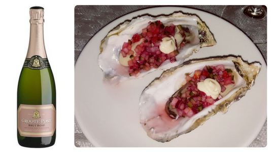 Starter Oysters Groote Post Rose
