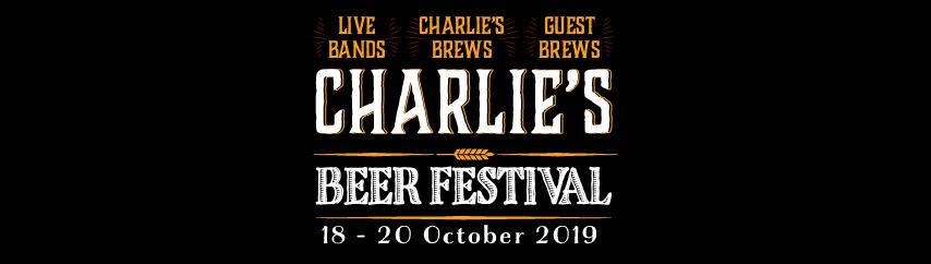 Charlie's Beer Festival: 18 – 20 October 2019