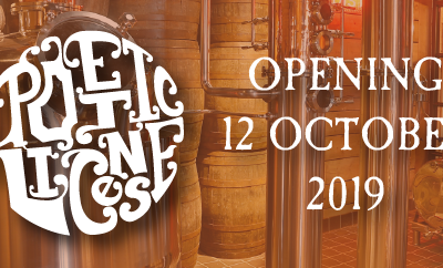 New Distillery called Poetic License Opening 12 October 2019