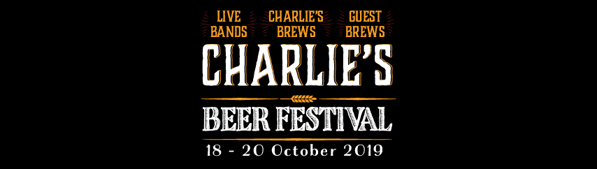 Charlie's Beer Festival: 18 – 20 October 2019